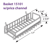 Basket 15101 With Price Channel