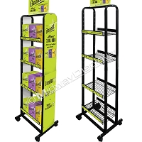Retail Box Wine Rack | 4 Tier 9