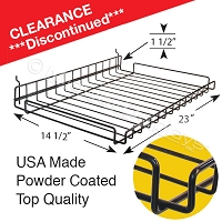 Wire Shelf for <br>Full-View® Merchandiser
