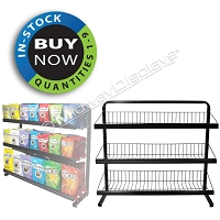 Under Counter Deli Snack Rack | Full-View® Floor Merchandiser