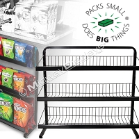 Under Counter 3-Tier Merchandiser | Off The Shelf Retail