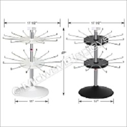 2-Tier Counter Top Spinner Display