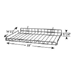 Wire Shelf for <br>Full-View� Merchandiser
