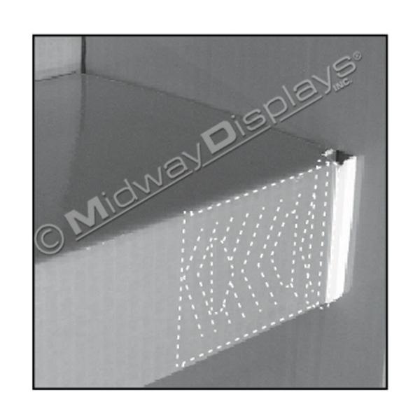 Corrugated Hardware for PDQ Merchandising | Small Shelf