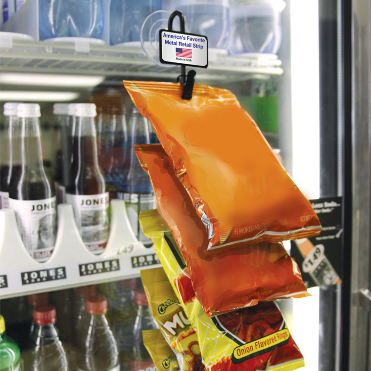 Display hanging strip