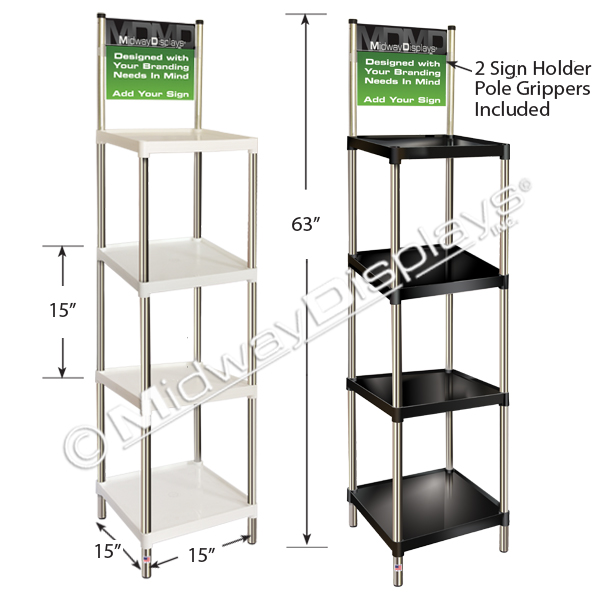 stackable plastic shelves plastic stackable square tray floor stand in stock 26555