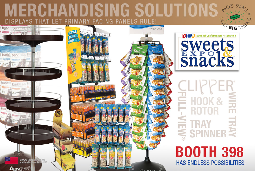 2019 THE SWEETS & SNACKS EXPO! May 21-23, | Chicago, IL, USA – McCormick Place