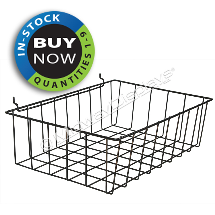Large Wire Basket for Full-View Stationary Floor Stand | In Stock ...