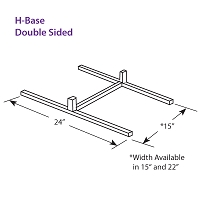 H-Base Double Sided