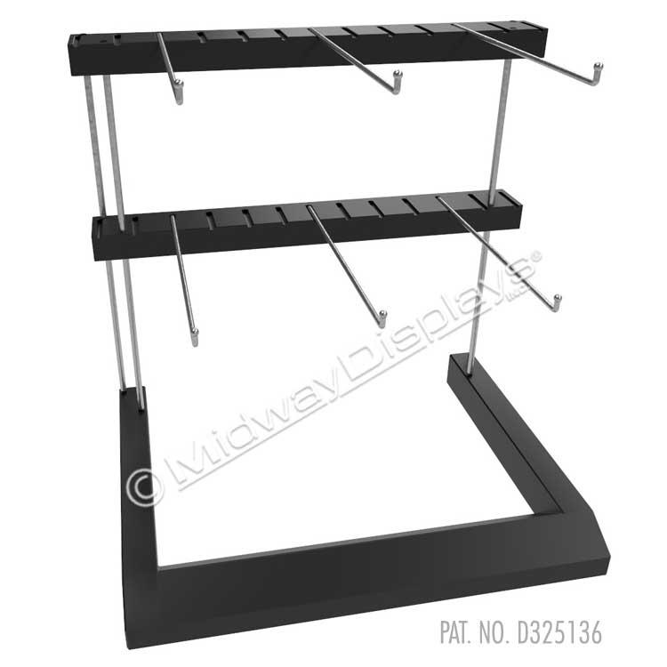Countertop CPG Merchandising Stand   1 & 2-Tier My-D® Mite