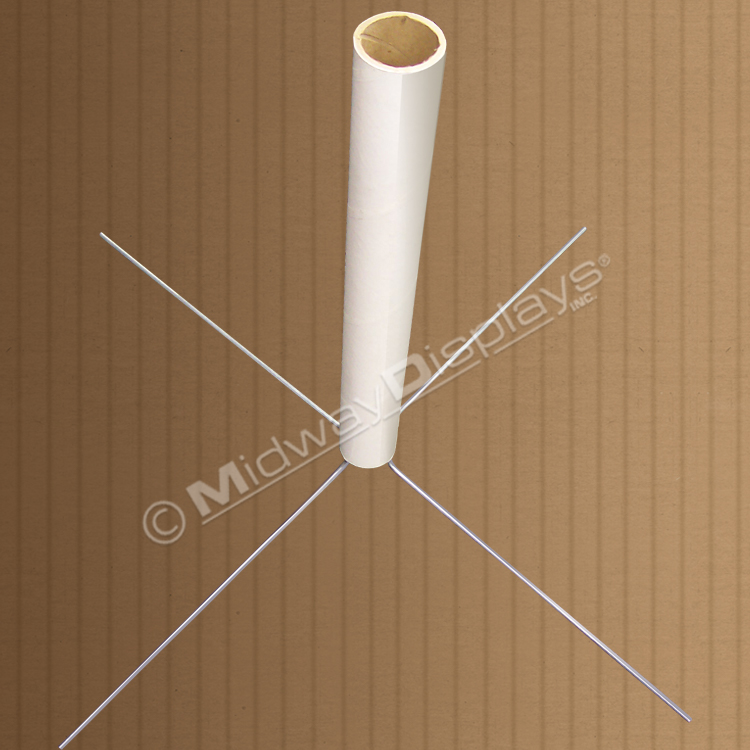 Fiber Pole Foot | Replaces Hollywood Feet | Corrugated ... on