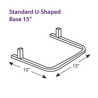 Standard U-Shaped Base 15
