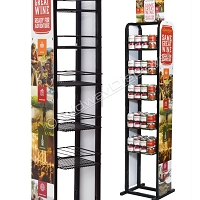Can Wine Retail  Rack | In The Aisle Display