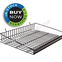 Large General Merchandise Shelf with Price Channel for Full-View® Merchandiser