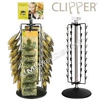 36 Clipper Display, Revolving Counter Clip Rack