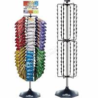108 Clipper Display Floor Stand Spinner Clip Rack