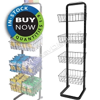 Retail Display Rack | Off The Shelf Metal Wire Display