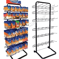Increased Capacity Full-View® 6-Tier Single Sided Rack