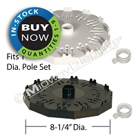 Supermax 12™ Rotor | Retail Floor Display Parts