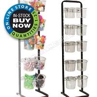 10 Tub/Bucket Retail Display Stand
