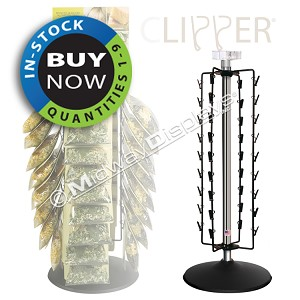 Counter Rack 36 Clipper Spinner | In Stock On Sale: Quantities 1-9