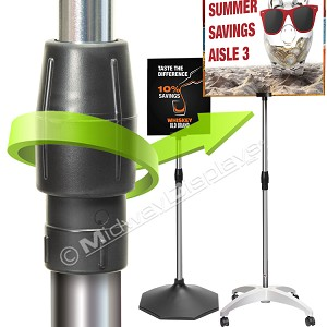 Adjustable Pole Stand 4 Piece Set with 20