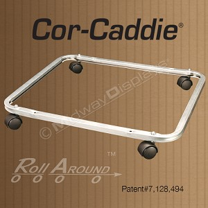 Cor-Caddie® Roll-Around System for Corrugated Displays