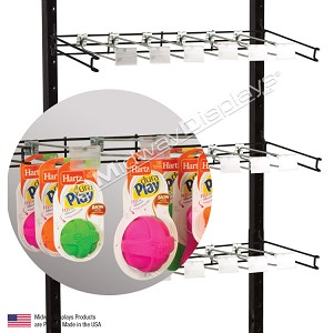 Hanging Hookbar Retail Display 22