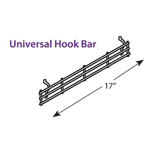 Hanging Hookbar | Universal Bar Hook 17.5